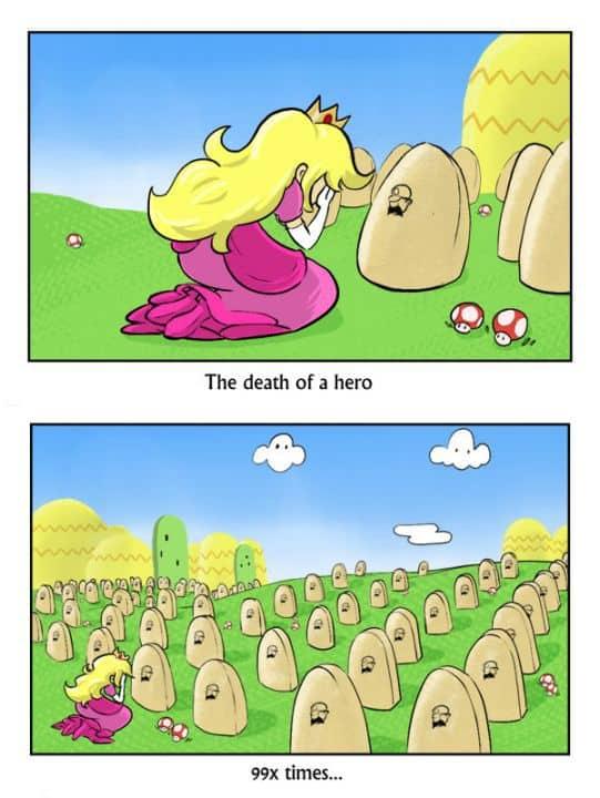 Super Mario sta morendo