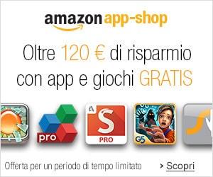 100 euro di app offerte da amazon