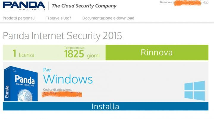 Panda Internet Security 2015 2016 2017 2018 2019 a 10 euro su Groupon