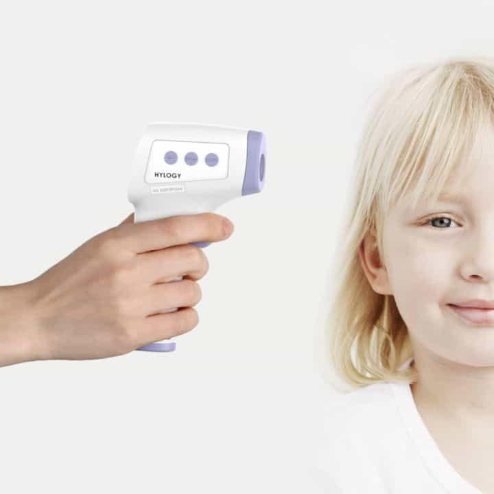 Miglior termometro infrarossi per neonati adulti febbre biberon e pappa